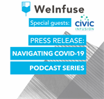 Press Release with WeInfuse: Navigating COVID-19